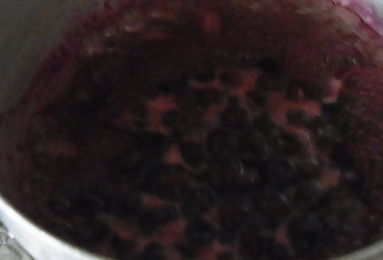 ブルーベリーソース