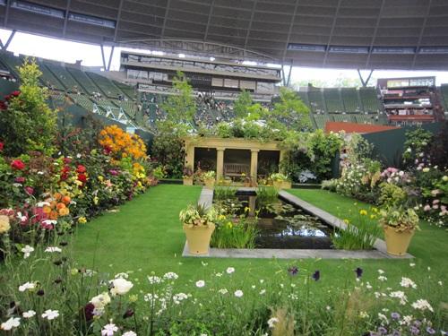 オードリーヘップバーンの庭