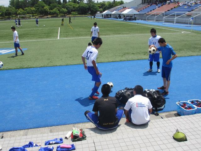 県トップリーグ後期第2節  航空vs松任 006