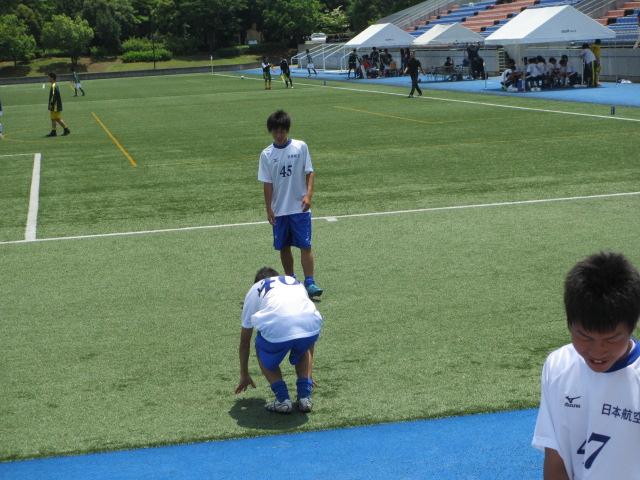 県トップリーグ後期第2節  航空vs松任 004