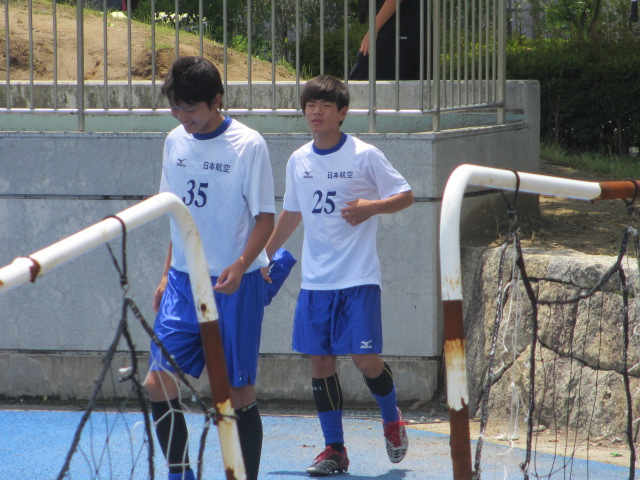 県トップリーグ後期第2節  航空vs松任 013