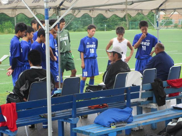 選手権石川県大会予選リーグ  航空vs津幡 105