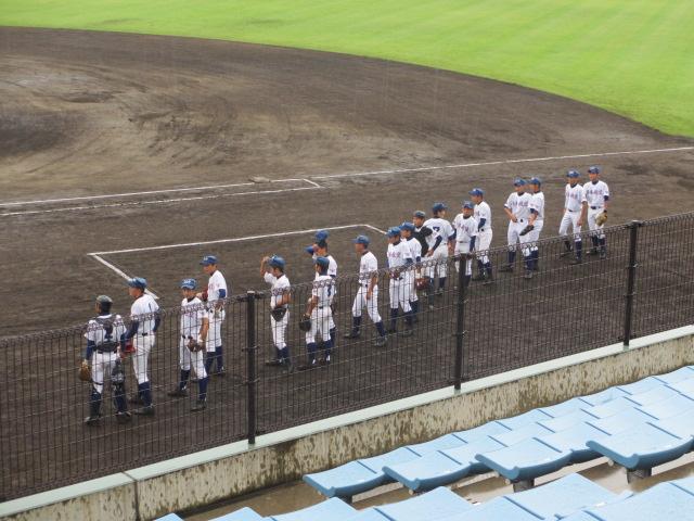北信越高校野球石川県大会  航空vs泉丘 006