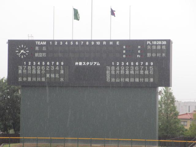 北信越高校野球石川県大会  航空vs泉丘 005