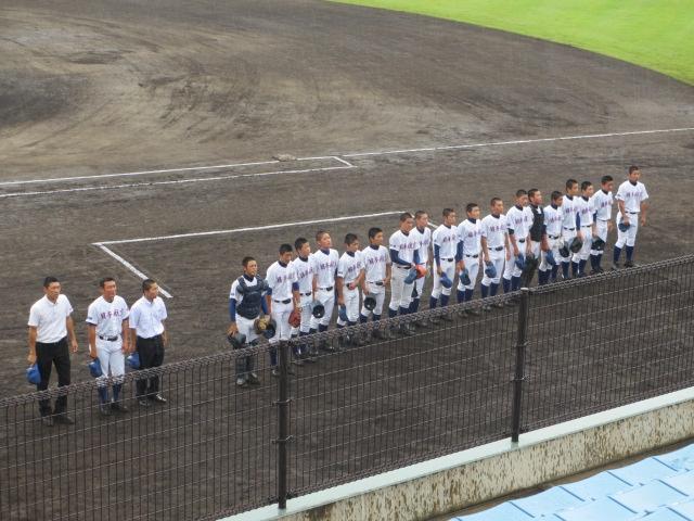 北信越高校野球石川県大会  航空vs泉丘 004
