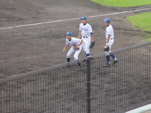 北信越高校野球石川県大会  航空vs泉丘 003