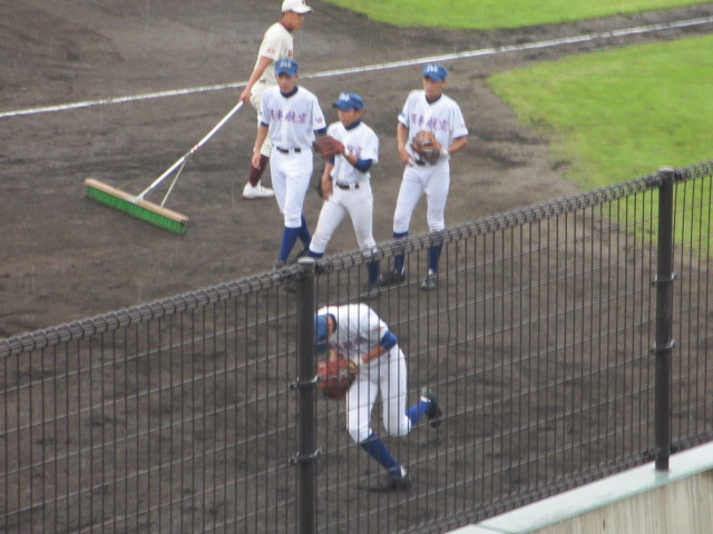 北信越高校野球石川県大会  航空vs泉丘 002
