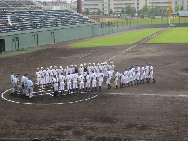 北信越高校野球石川県大会  航空vs泉丘 007