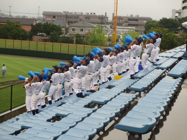 北信越高校野球石川県大会  航空vs泉丘 029