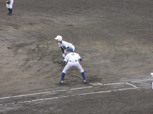 北信越高校野球石川県大会  航空vs泉丘 021