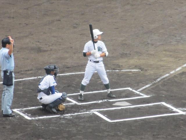 北信越高校野球石川県大会  航空vs泉丘 020