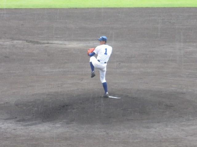 北信越高校野球石川県大会  航空vs泉丘 019