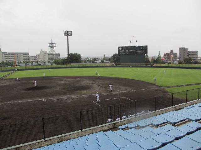 北信越高校野球石川県大会  航空vs泉丘 018