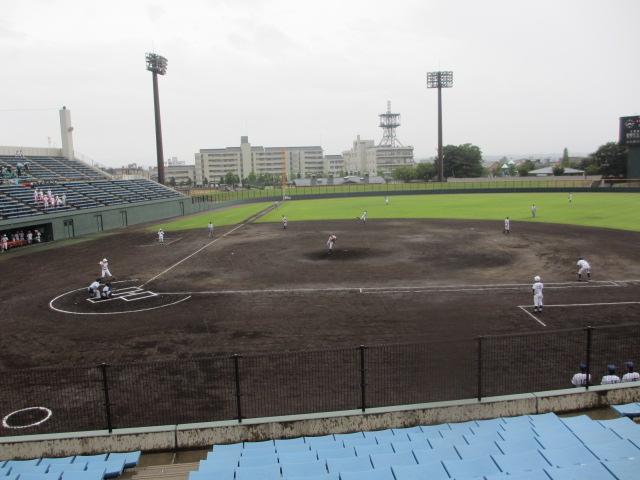 北信越高校野球石川県大会  航空vs泉丘 017