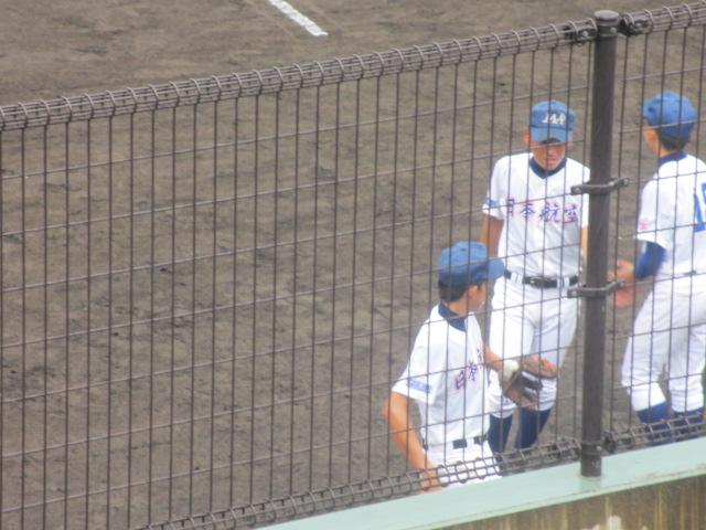 北信越高校野球石川県大会  航空vs泉丘 025