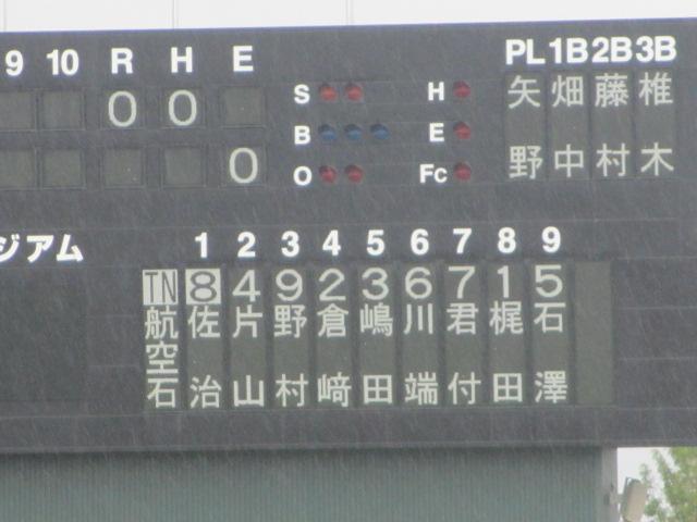 北信越高校野球石川県大会  航空vs泉丘 028