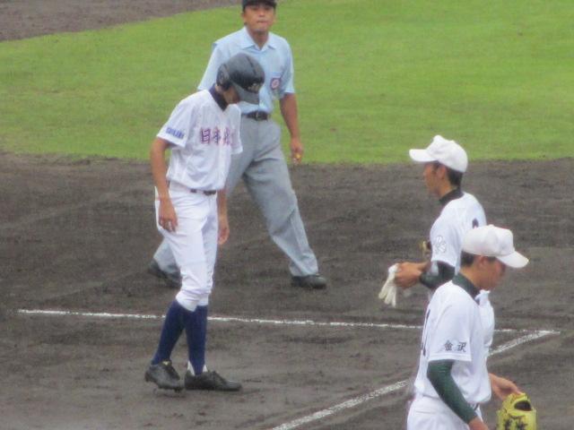 北信越高校野球石川県大会  航空vs泉丘 027
