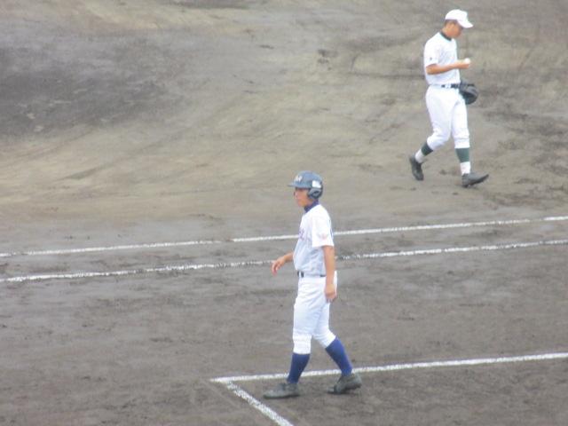 北信越高校野球石川県大会  航空vs泉丘 026