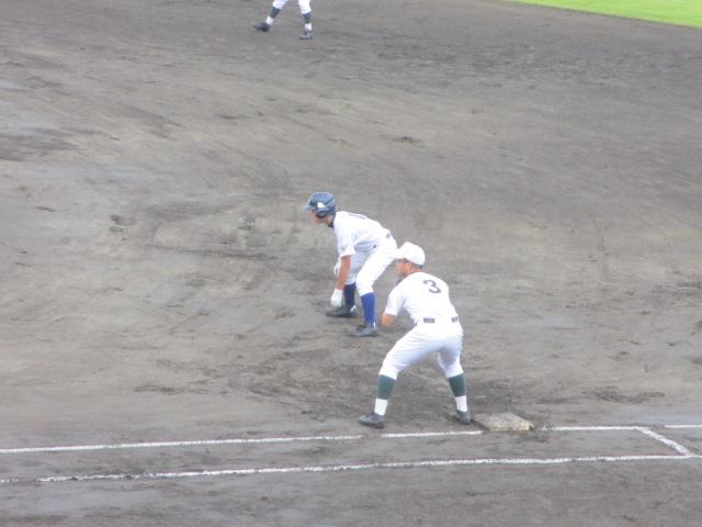 北信越高校野球石川県大会  航空vs泉丘 038