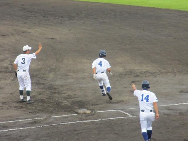北信越高校野球石川県大会  航空vs泉丘 035