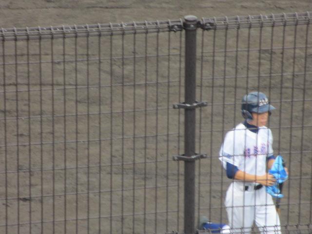 北信越高校野球石川県大会  航空vs泉丘 036