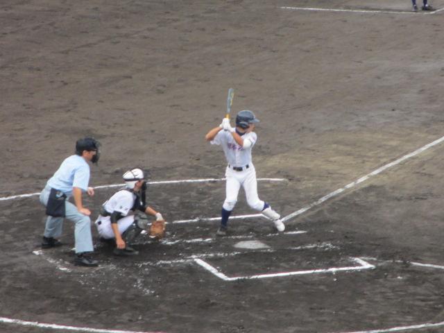 北信越高校野球石川県大会  航空vs泉丘 034