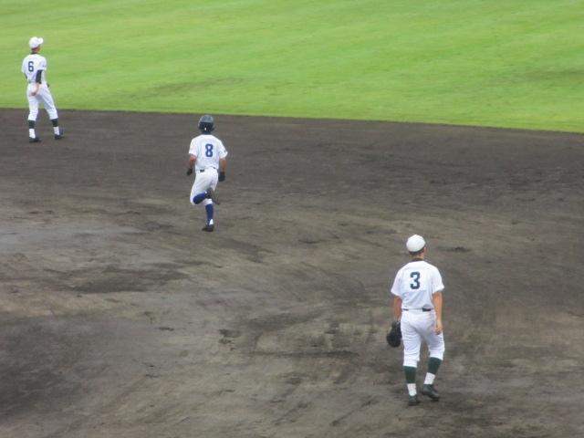 北信越高校野球石川県大会  航空vs泉丘 033