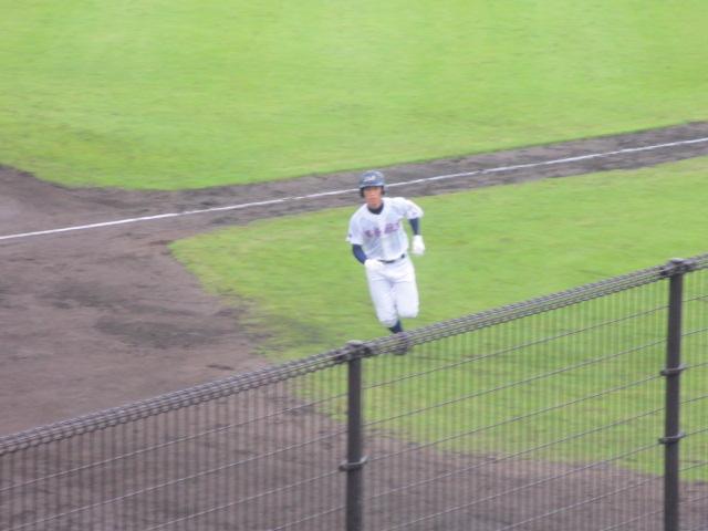 北信越高校野球石川県大会  航空vs泉丘 043