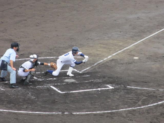 北信越高校野球石川県大会  航空vs泉丘 042