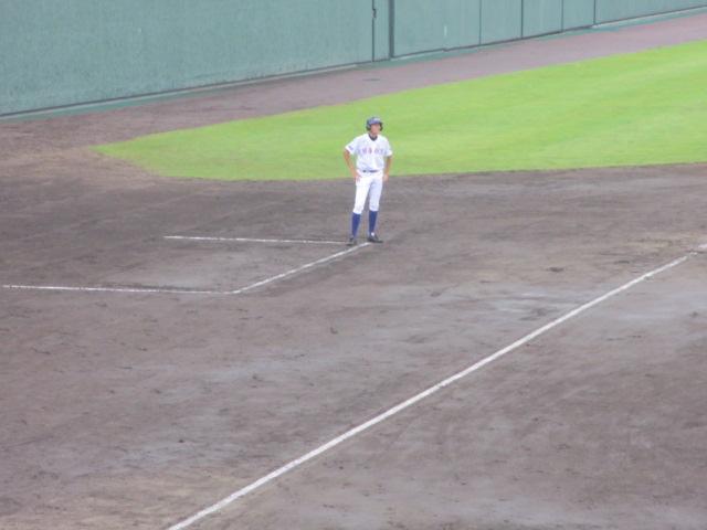 北信越高校野球石川県大会  航空vs泉丘 041