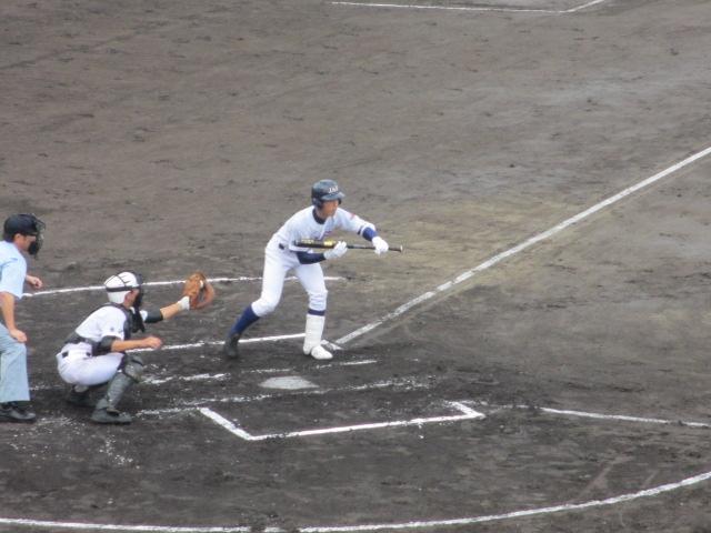 北信越高校野球石川県大会  航空vs泉丘 039