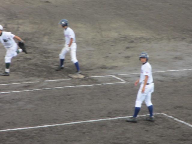 北信越高校野球石川県大会  航空vs泉丘 040