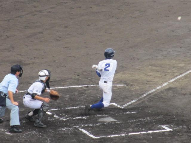 北信越高校野球石川県大会  航空vs泉丘 050