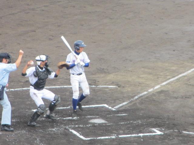 北信越高校野球石川県大会  航空vs泉丘 048