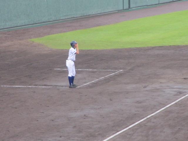 北信越高校野球石川県大会  航空vs泉丘 047