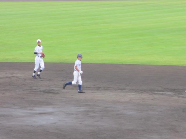 北信越高校野球石川県大会  航空vs泉丘 046