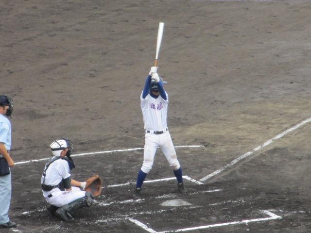 北信越高校野球石川県大会  航空vs泉丘 045
