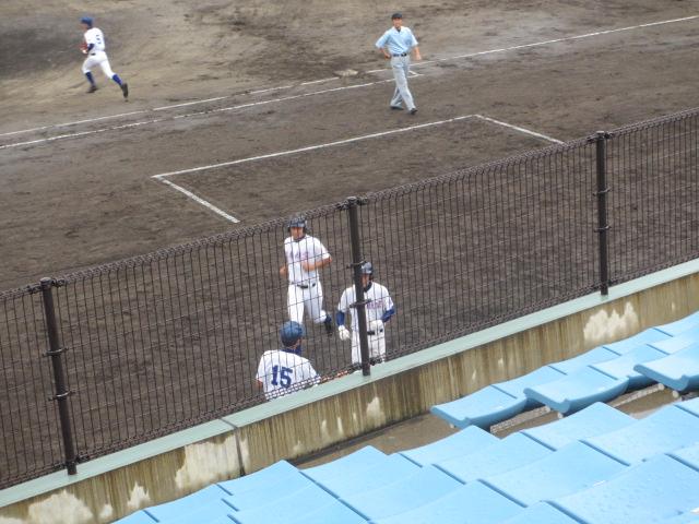 北信越高校野球石川県大会  航空vs泉丘 055