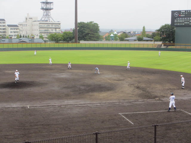 北信越高校野球石川県大会  航空vs泉丘 053