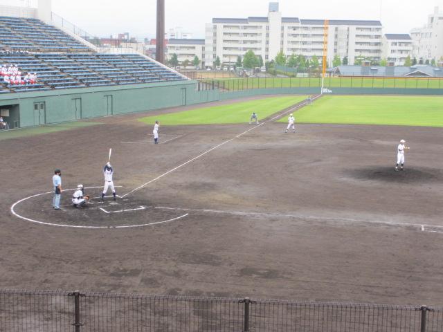 北信越高校野球石川県大会  航空vs泉丘 054