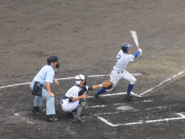 北信越高校野球石川県大会  航空vs泉丘 052