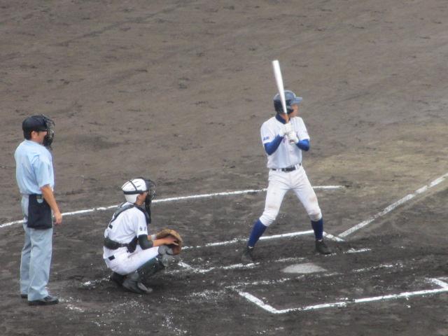 北信越高校野球石川県大会  航空vs泉丘 051