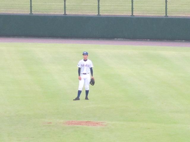 北信越高校野球石川県大会  航空vs泉丘 062