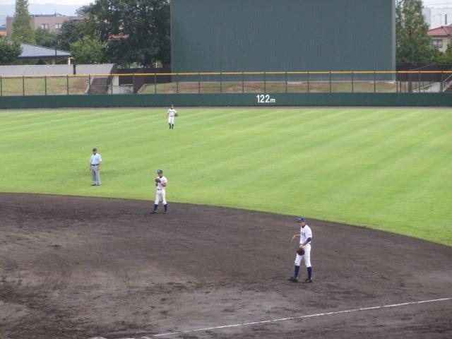 北信越高校野球石川県大会  航空vs泉丘 061