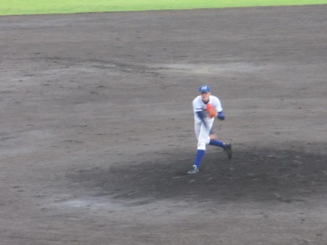 北信越高校野球石川県大会  航空vs泉丘 059