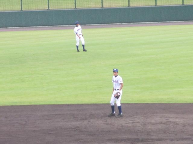 北信越高校野球石川県大会  航空vs泉丘 060