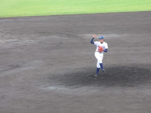 北信越高校野球石川県大会  航空vs泉丘 058