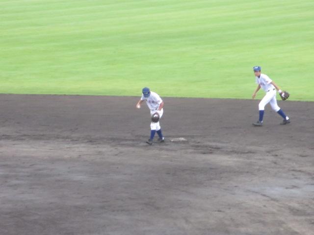 北信越高校野球石川県大会  航空vs泉丘 057