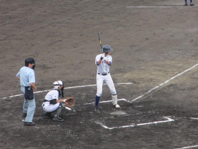 北信越高校野球石川県大会  航空vs泉丘 068