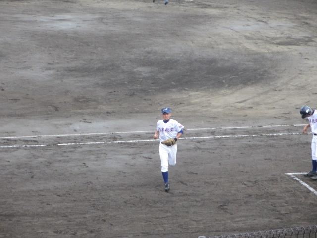 北信越高校野球石川県大会  航空vs泉丘 067